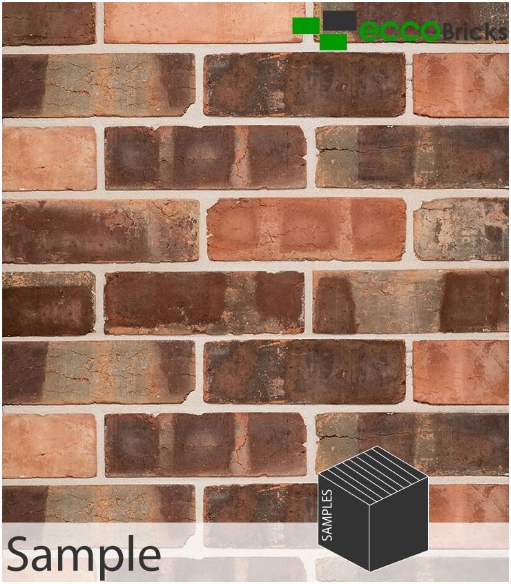 SAMPLE - Antique Victorian Pressed Brick Slip
