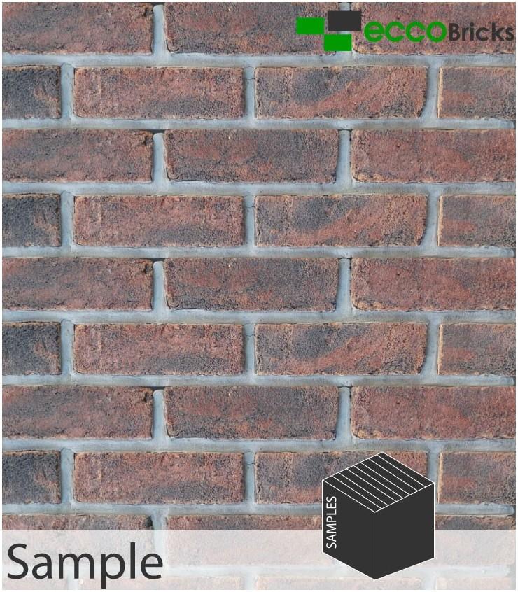 SAMPLE - Antique Cottage Black Brick Slip