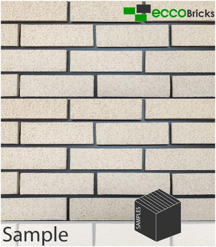 SAMPLE - Natural Fenland Ivory White Brick Slip