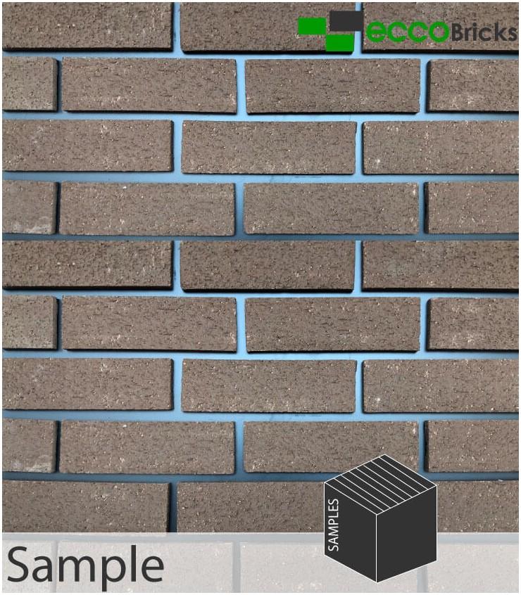 SAMPLE - Natural Warrington Textured Brown Brick Slip