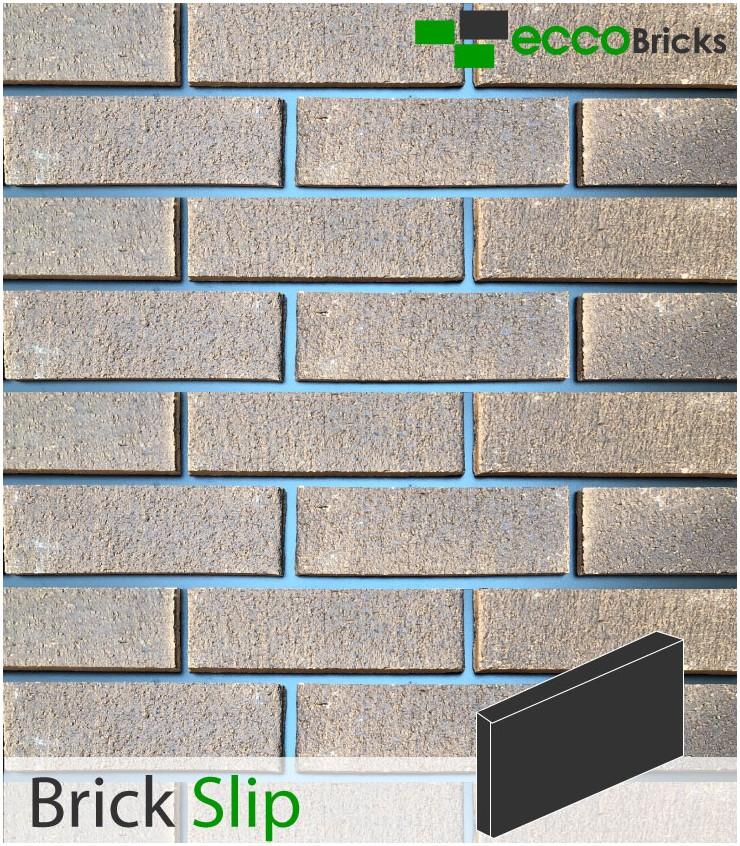 Natural Burnley Dark Multi Brick Slip