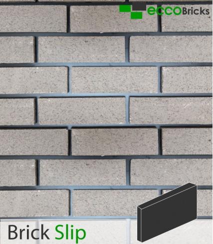 Natural Pendle Silver Grey Brick Slip