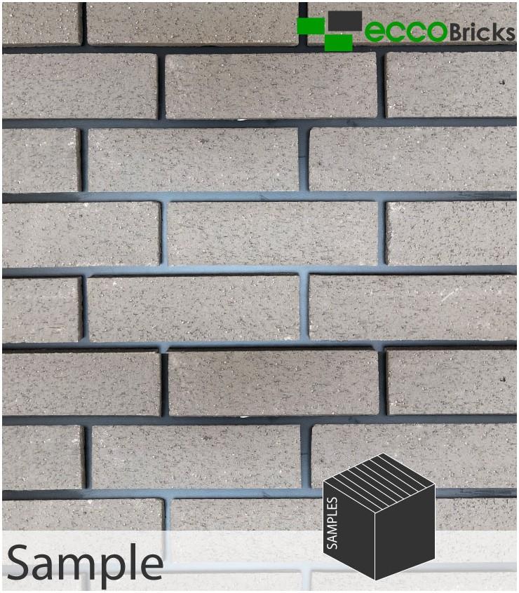 SAMPLE - Natural Pendle Silver Grey Brick Slip