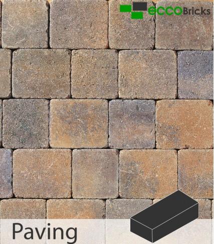 Tegula Block Paving 50mm - Void Pack