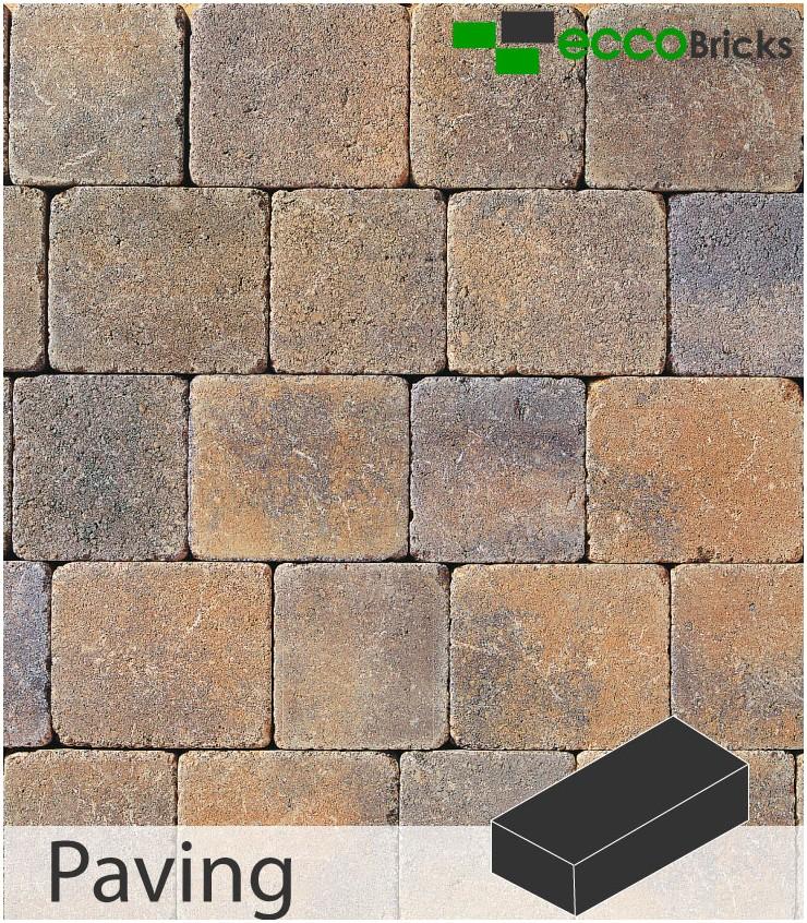 Tegula Block Paving Trio 50mm