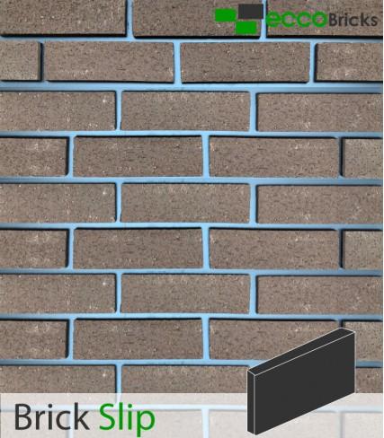 Natural Warrington Textured Brown Brick Slip