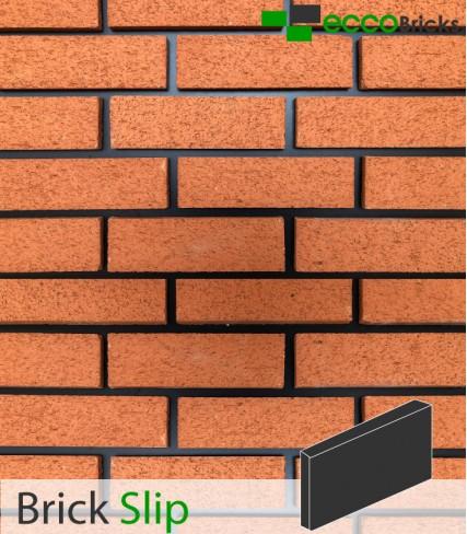 SAMPLE - Natural Boston Textured Orange Brick Slip