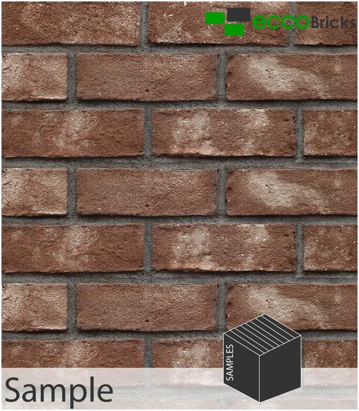 SAMPLE - Antique Ash Brown Brick Slip