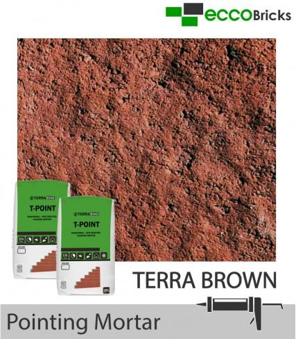 Terrabond T-Point Pointing Mortar | Terra Brown