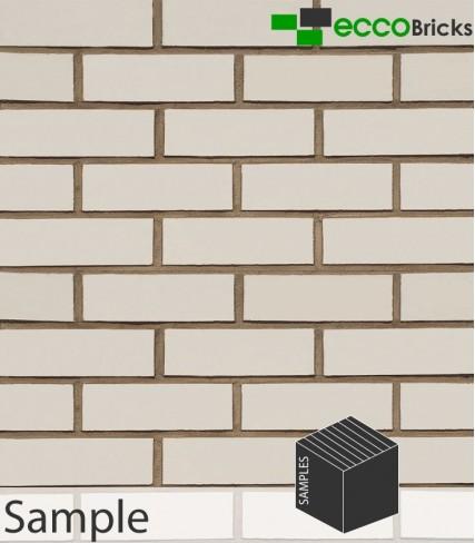 SAMPLE - Classic Ivory White Brick Slip