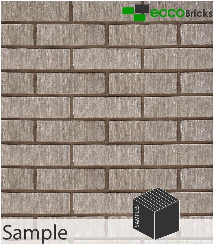 SAMPLE - Stalactite Ivory White Brick Slip