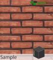 SAMPLE - Antique Red Brick Slip