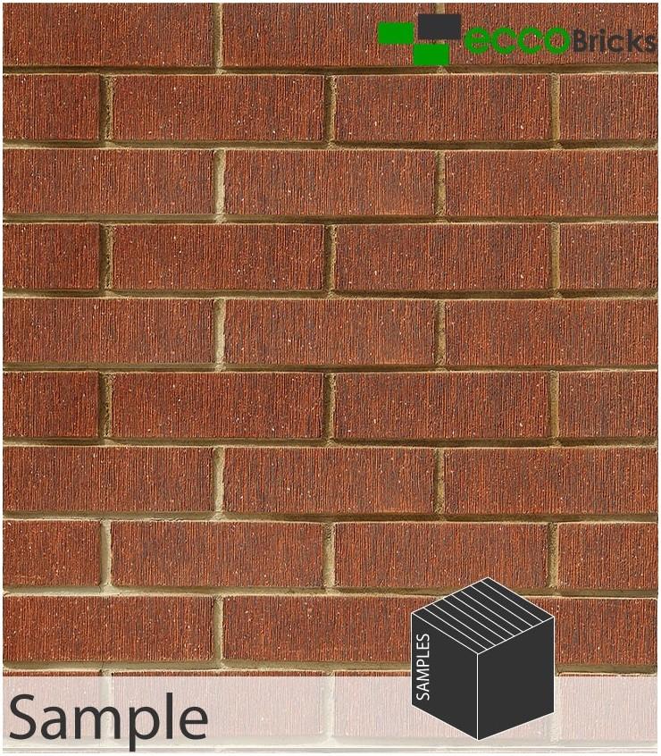 SAMPLE - Stalactite Volcano Orange Brick Slip