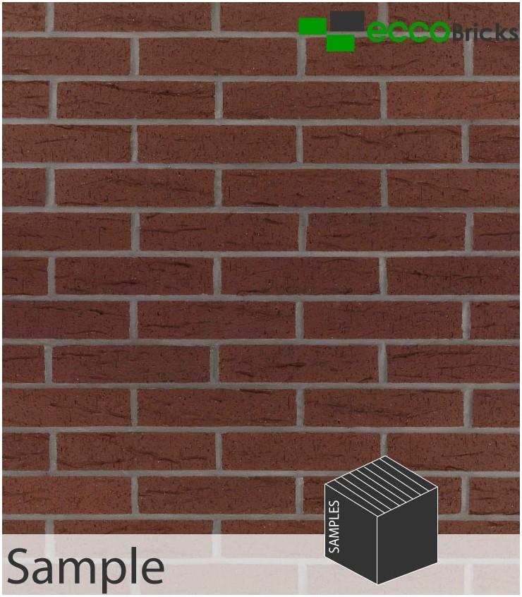 SAMPLE - Rustic Brown Brick Slip