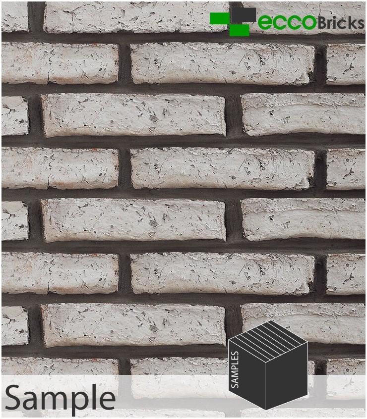 SAMPLE - Antique Silver Grey Brick Slip