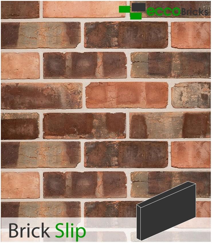 Antique Victorian Pressed Brick Slip